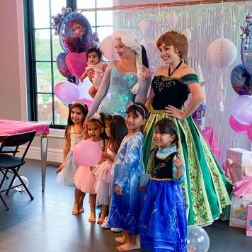 Elsa Anna Frozen Party VA MD DC