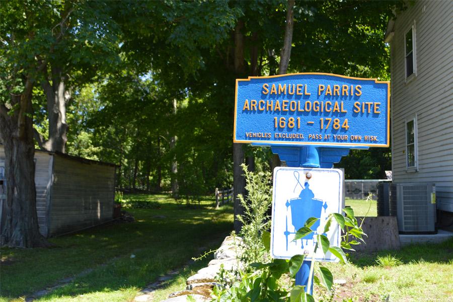 Samuel Parris home site