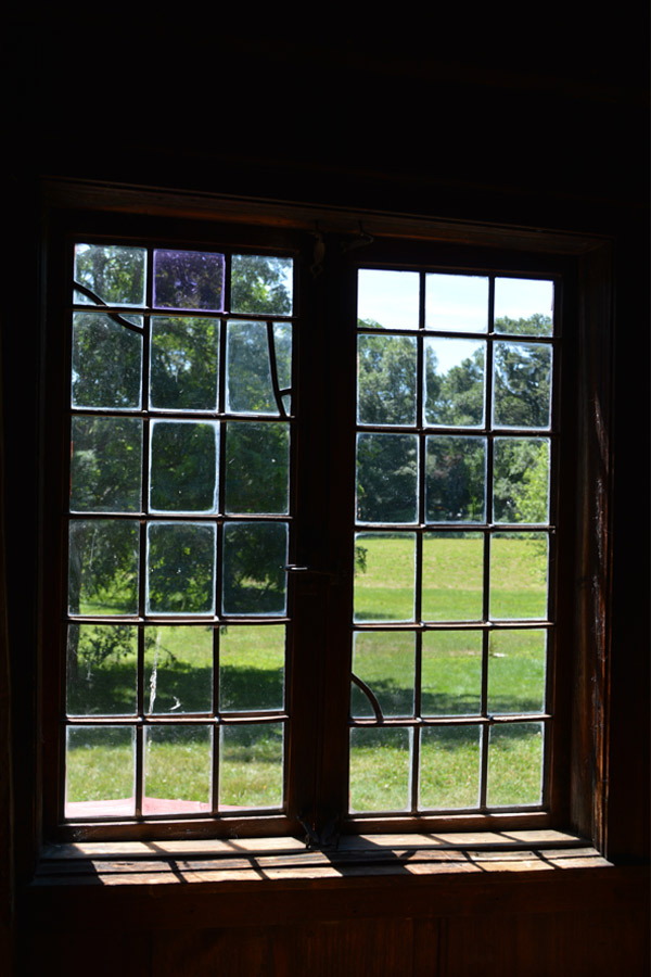 Rebecca Nurse Homestead window