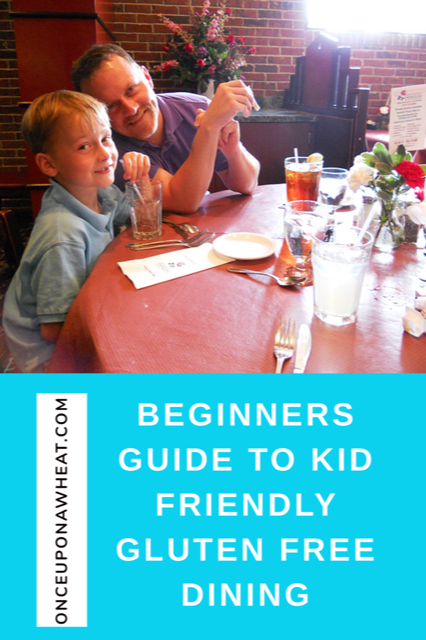 Beginners Guide to Kid Friendly Gluten Free Dining Pin