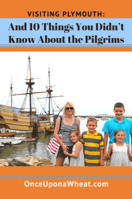 Plymouth 10 Things you didn't know about the pilgrims Pin