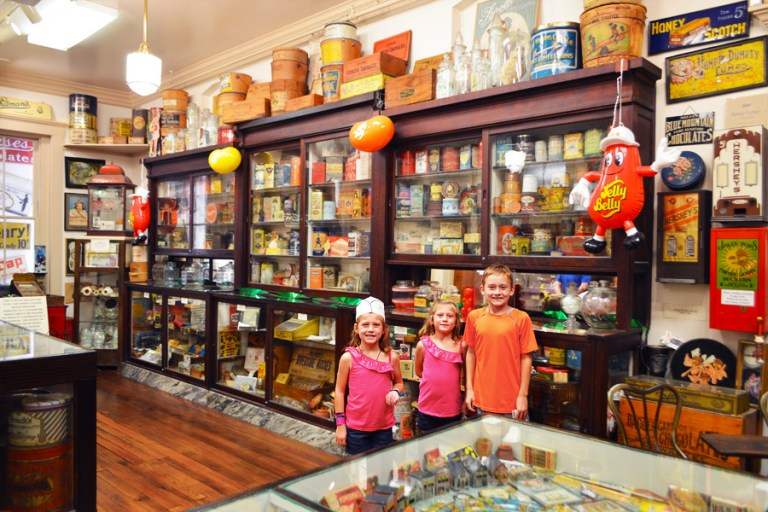 Schimpffs candy museum kids