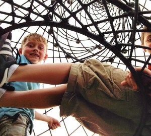 City Museum boys steeple