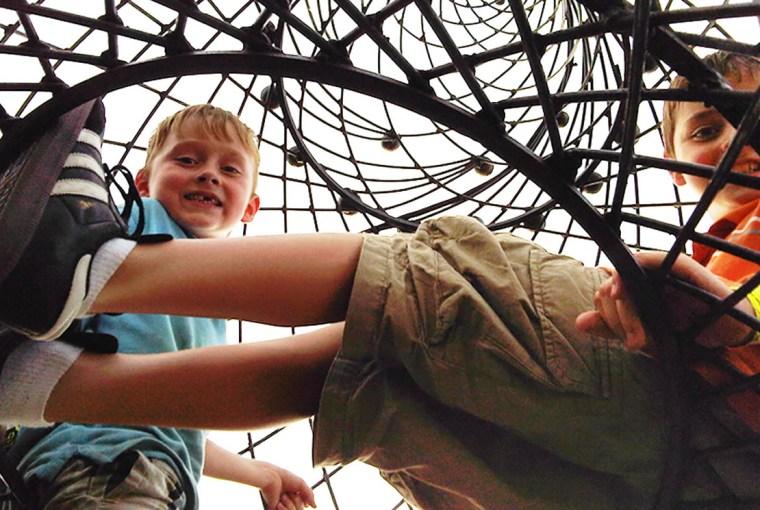 City Museum boys steeple