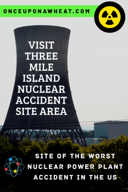TMI Nuclear Accident Site Pin