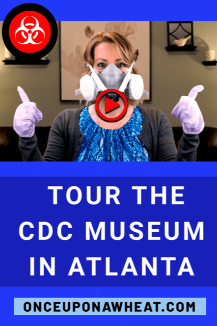 CDC Museum video pin