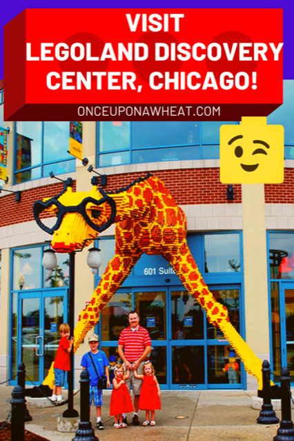 Legoland Chicago Pin