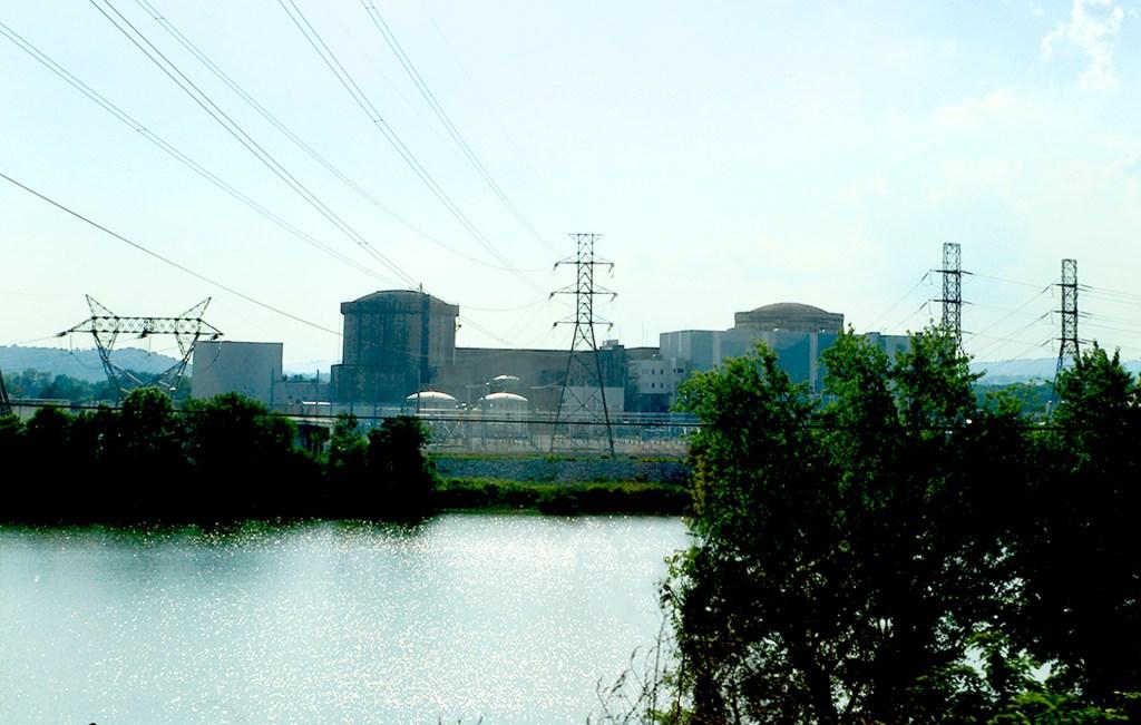 Three Mile Island nuclear reactors