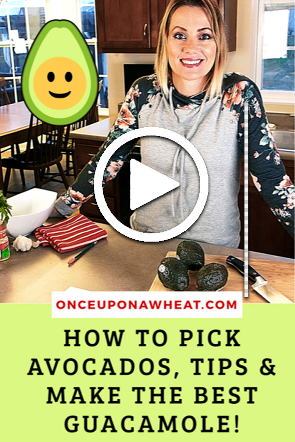 How to pick Avocados & Guacamole tipspin