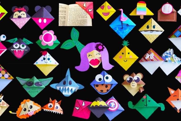 DIY bookmark crafts