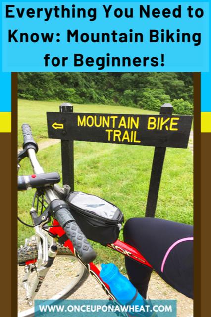 Mountain Biking for Beginners Pin