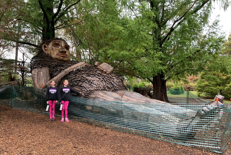 giants at Bernheim Forest Mama Loumari