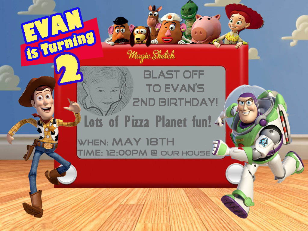 Games To Play At Toy Story Birthday Party : Food and decoration ideas from my toy story birthday party hunny