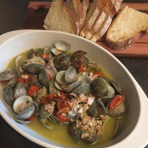 Drunken Instant Pot Clams