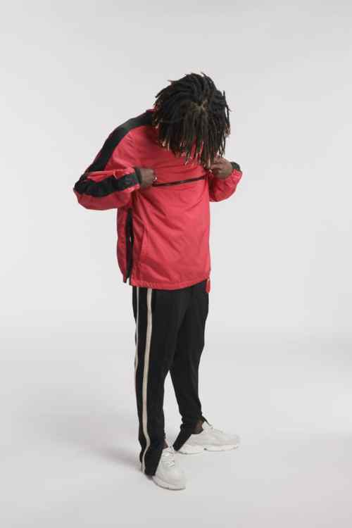 MONO ANORAK JACKET PINK O3W ONCE WE WERE WARRIORS