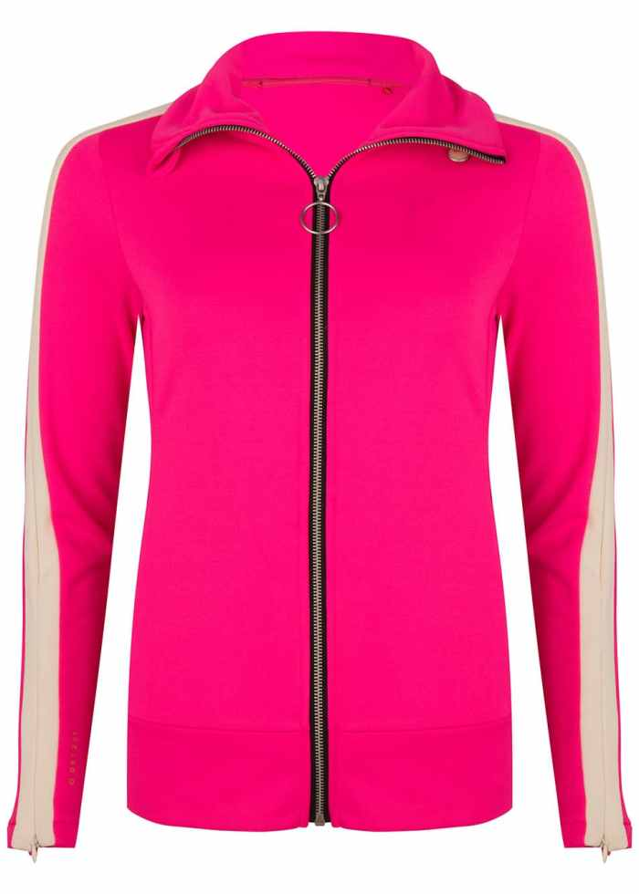 SAMI TRACK JACKET PINK ONCE WE WERE WARRIORS TRACKSUIT WOMEN