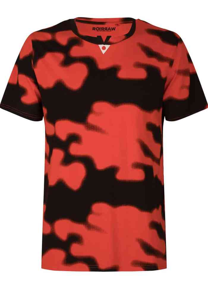 DACHI TEE T-SHIRT FIERY RED ONCE WE WERE WARRIORS
