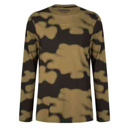 JOONI LONGSLEEVE TEE SHIRT OLIVE ONCE WE WERE WARRIORS
