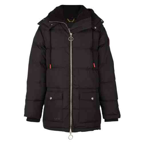 SAN PUFFER DOWN JACKET BLACK ONCE WE WERE WARRIORS