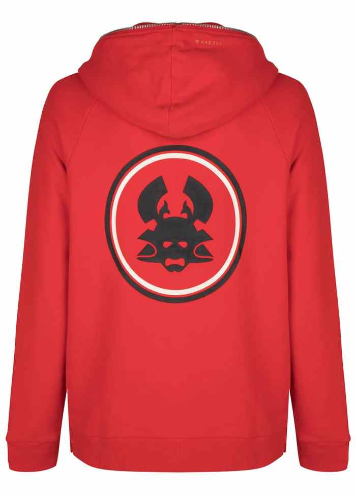 tokyo 2 hoodie goji berry red once we were warriors