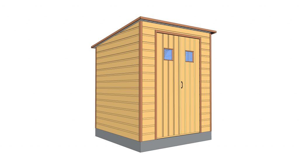 plan abri de jardin en bois plans en