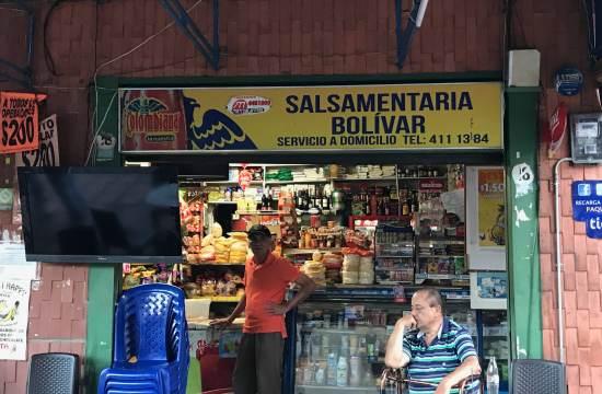 The Colombian corner store, a neighborhood hub