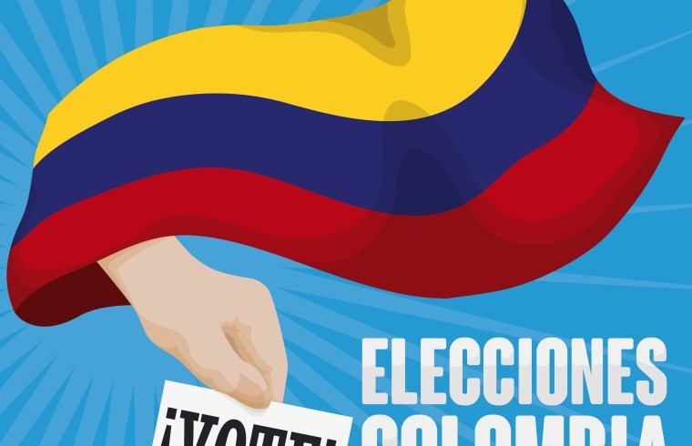 More than 19 million Colombians turned out to vote for President / Mas que 19 millones de colombianos votary por presidente
