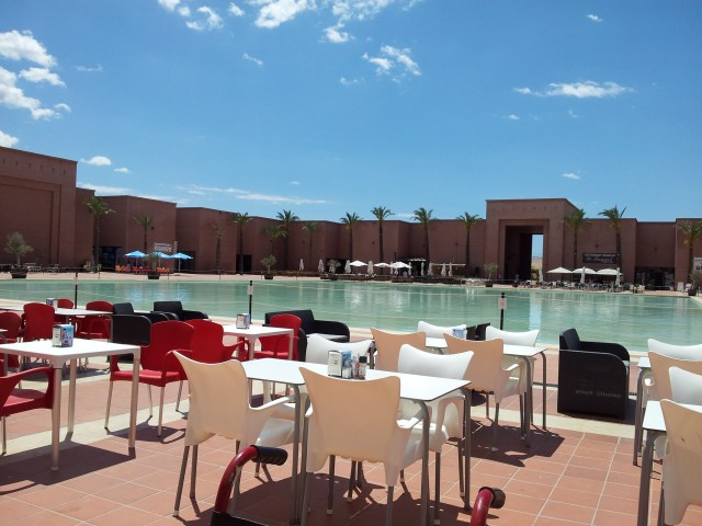 Relax in the Sunshine at One of Al Kasars Cafe's