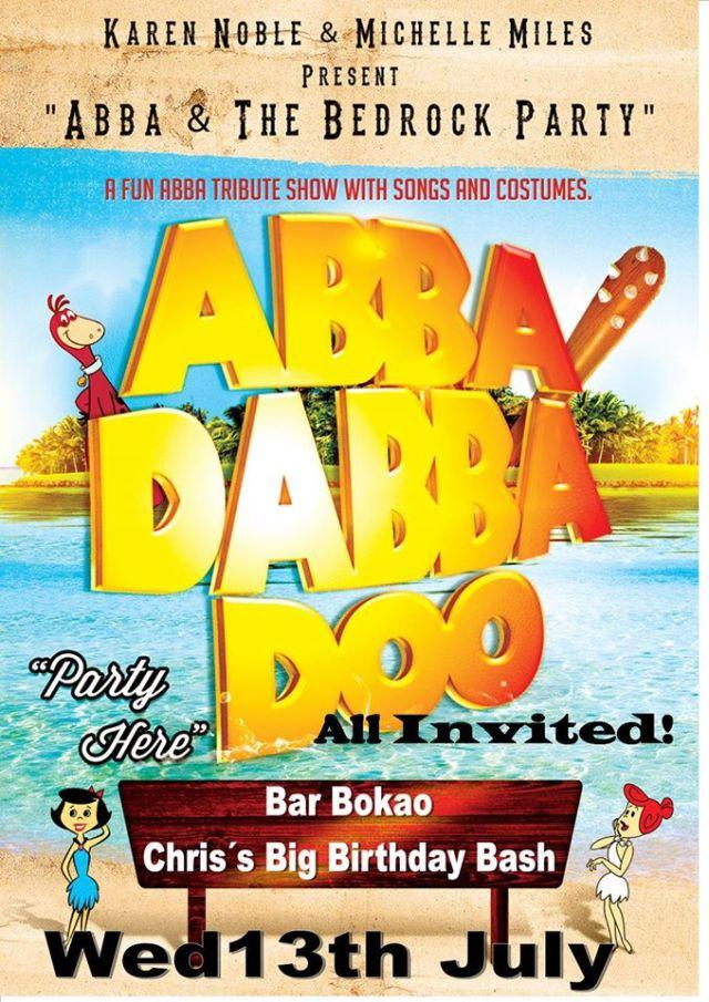 ABBA Tribute Show at Bokao