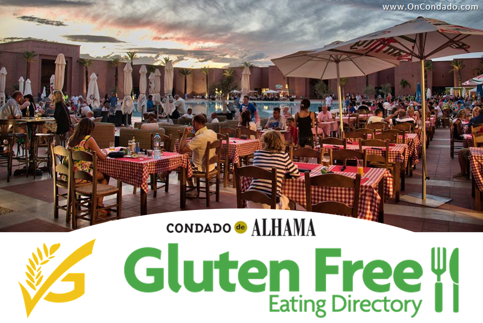 Guide to Gluten Free Dining While Staying At Condado de Alhama
