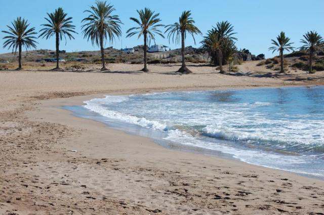 Percheles Beach in November