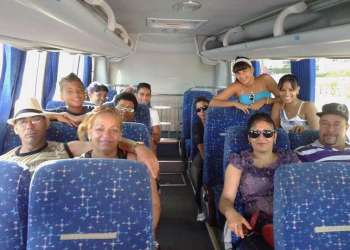 """Familias y vecinos juntan ahorros para hacer """"turismo nacional"""" / Foto: J.J Nieves."""
