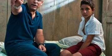 Ernesto Daranas en la filmación de Conducta