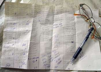 Listas de la Bolita