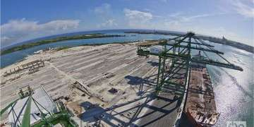 As part of the special zone, a modern container terminal was opened in the Port of Mariel