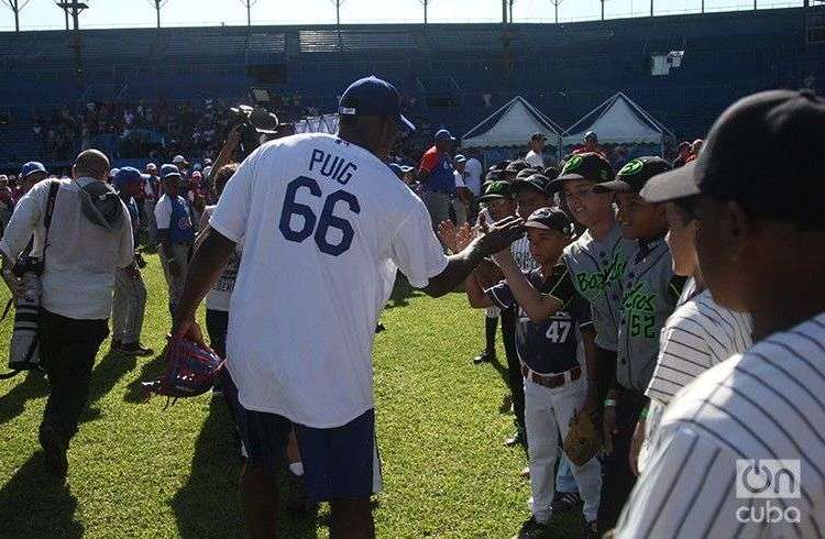 MLB's goodwill tour of Cuba / Photo: Roberto Ruiz