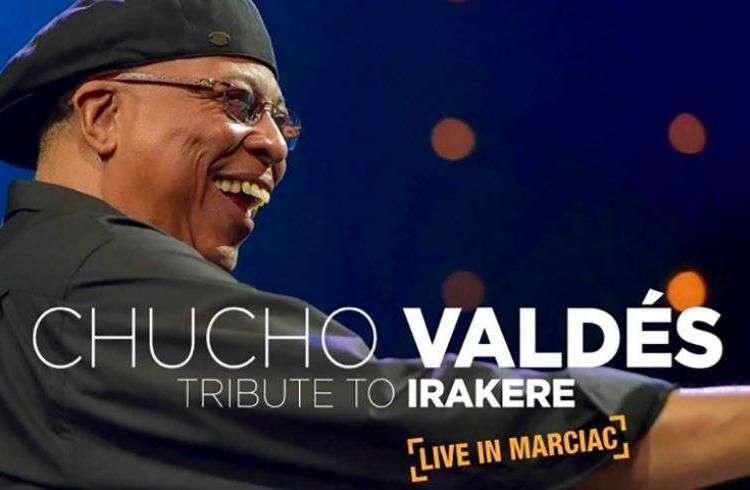 Cover of Tribute to Irakere: Live in Marciac, by Chucho Valdés.