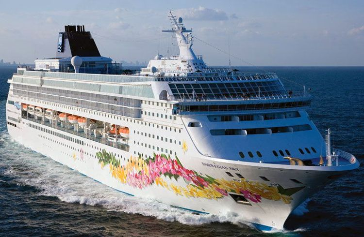 The Norwegian Sky. Photo: cruiseweb.com.