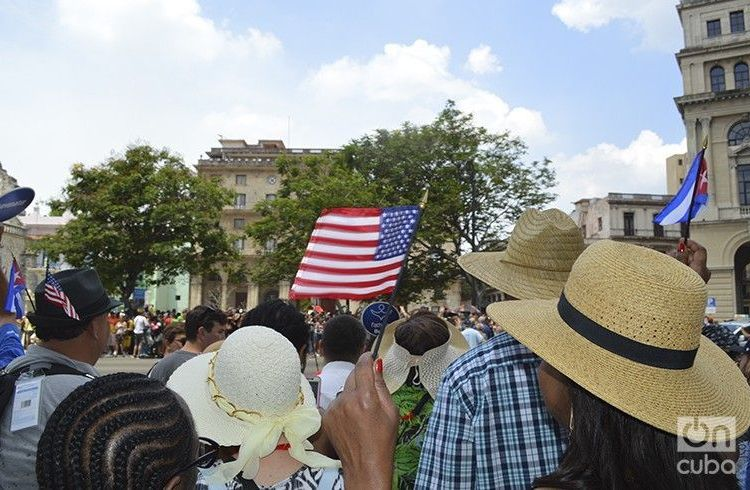 """A """"marked decrease"""" of U.S. visitors in recent weeks has been one of the first adverse effects of the current U.S. policy toward Cuba. Photo: Marita Pérez Díaz."""