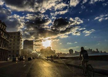 Havana's Malecón seaside drive. Photo: Desmond Boylan.