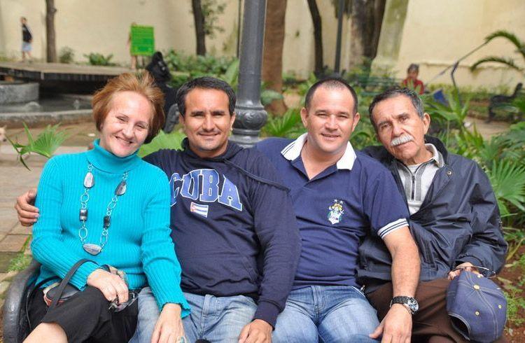 Santos Cabrera family. Photo: Courtesy