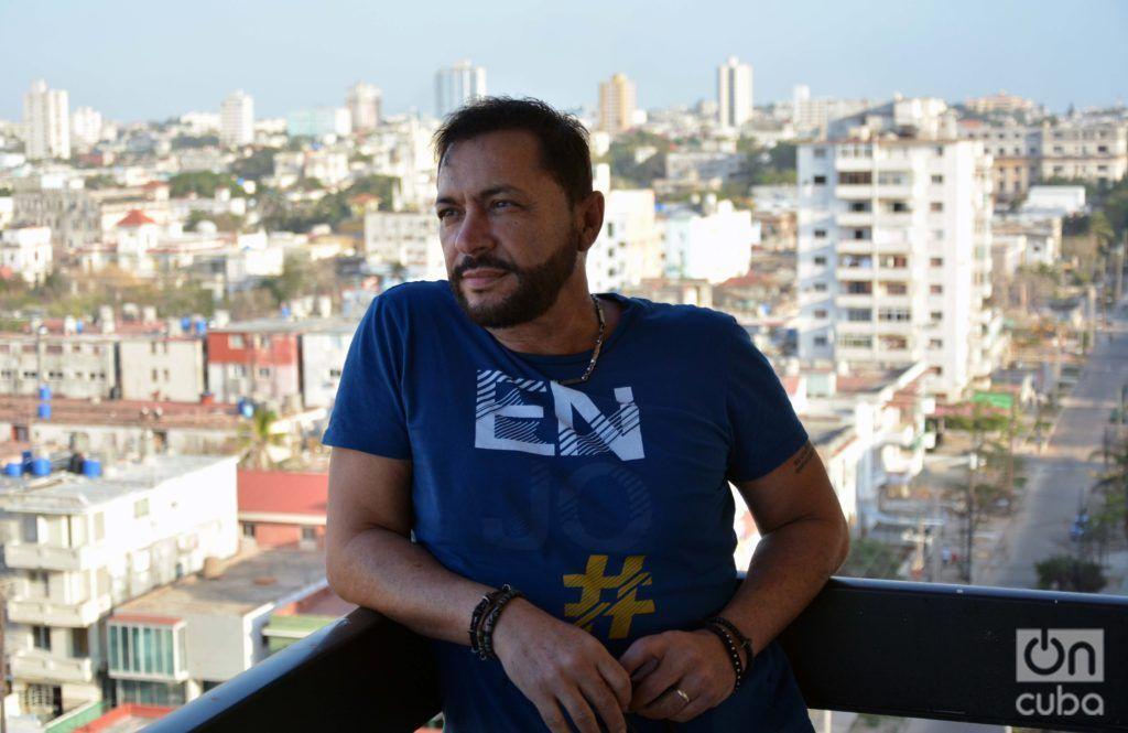 Jorge Martínez was born in Havana in 1962. Photo: Regino Sosa.