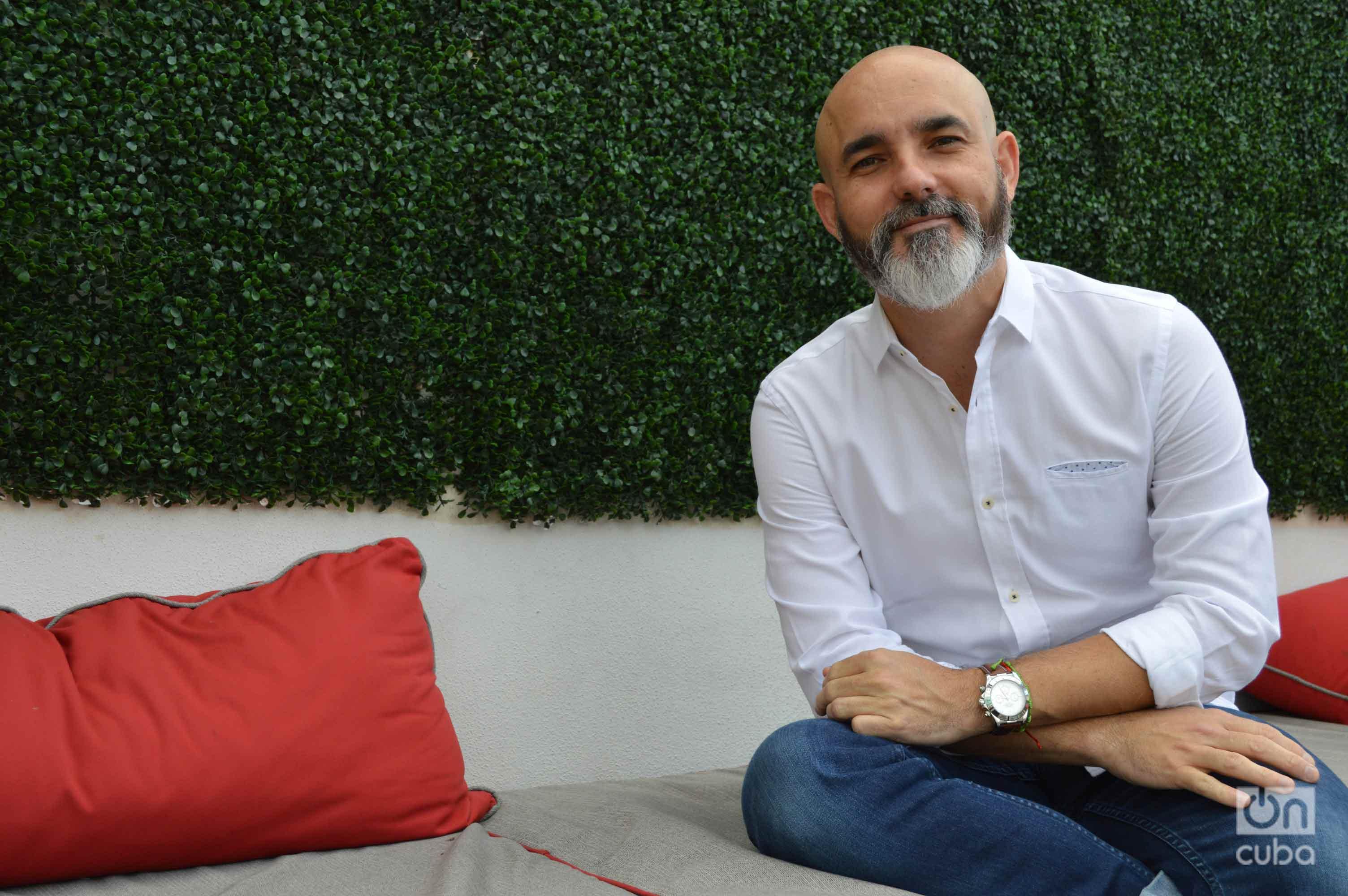 Juan E. Shamizo, founder of Vedado Social Club