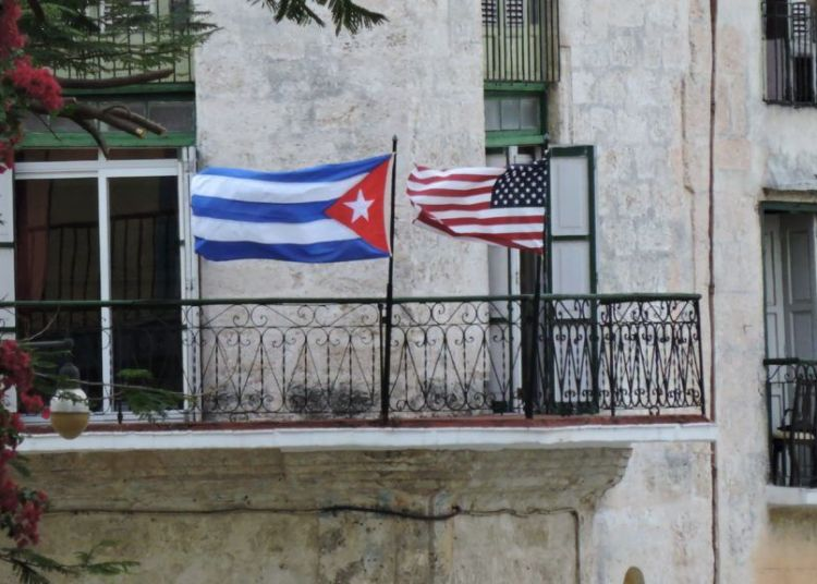 Photo taken during the visit of President Barack Obama to Cuba in 2016.
