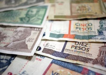 Cuban bills. Photo: EFE / Archive.