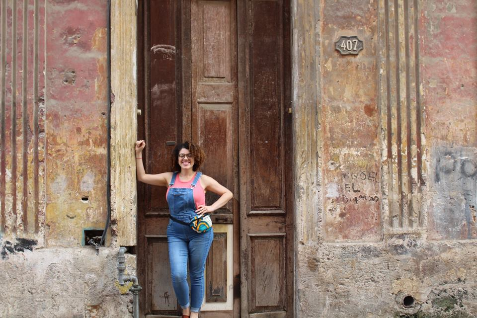 Haidee Cano in Havana. Photo: Courtesy of the interviewee.