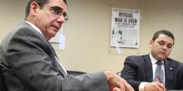 José Ramón Cabañas, Cuban ambassador to the United States, on a visit to Tampa. Photo: Juan Carlos Chávez / Tampa Bay Times.