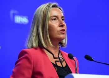 The European Union's Head of Diplomacy, Federica Mogherini. Photo: middle-east-online.com.