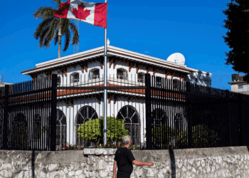 Canadian Embassy in Cuba. Photo: AP / Archive.
