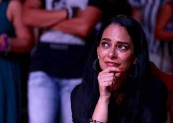 Cuban actress Jacqueline Arenal at the Gibara Film Festival. Photo: Gabriel Guerra Bianchini.